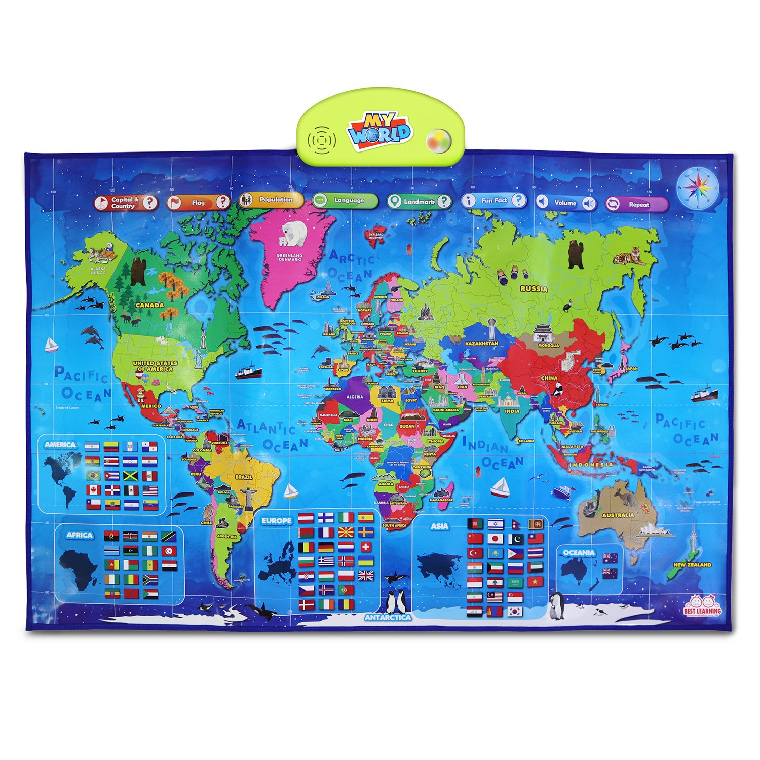 Best Learning World Map