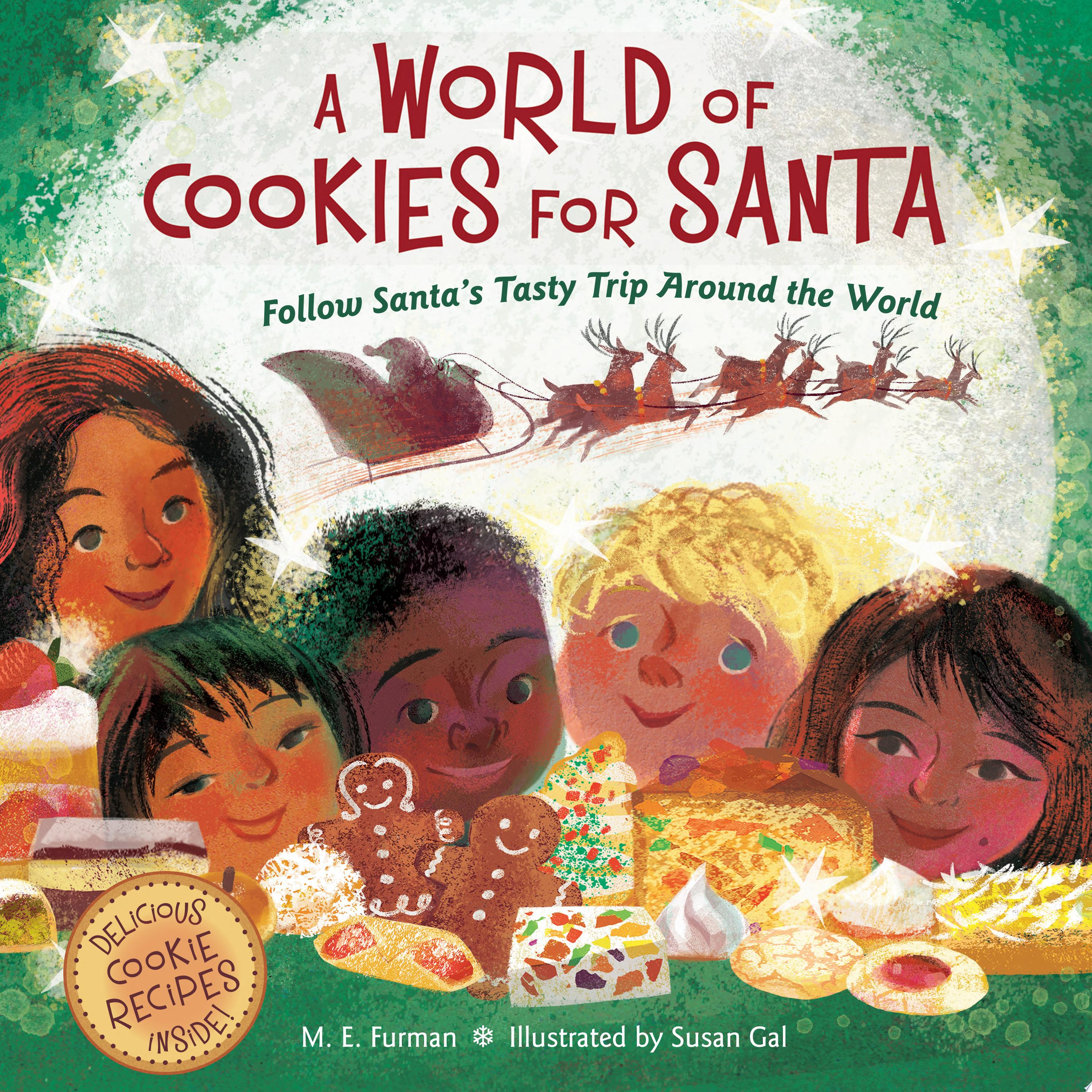"Image for ""A World of Cookies for Santa"""