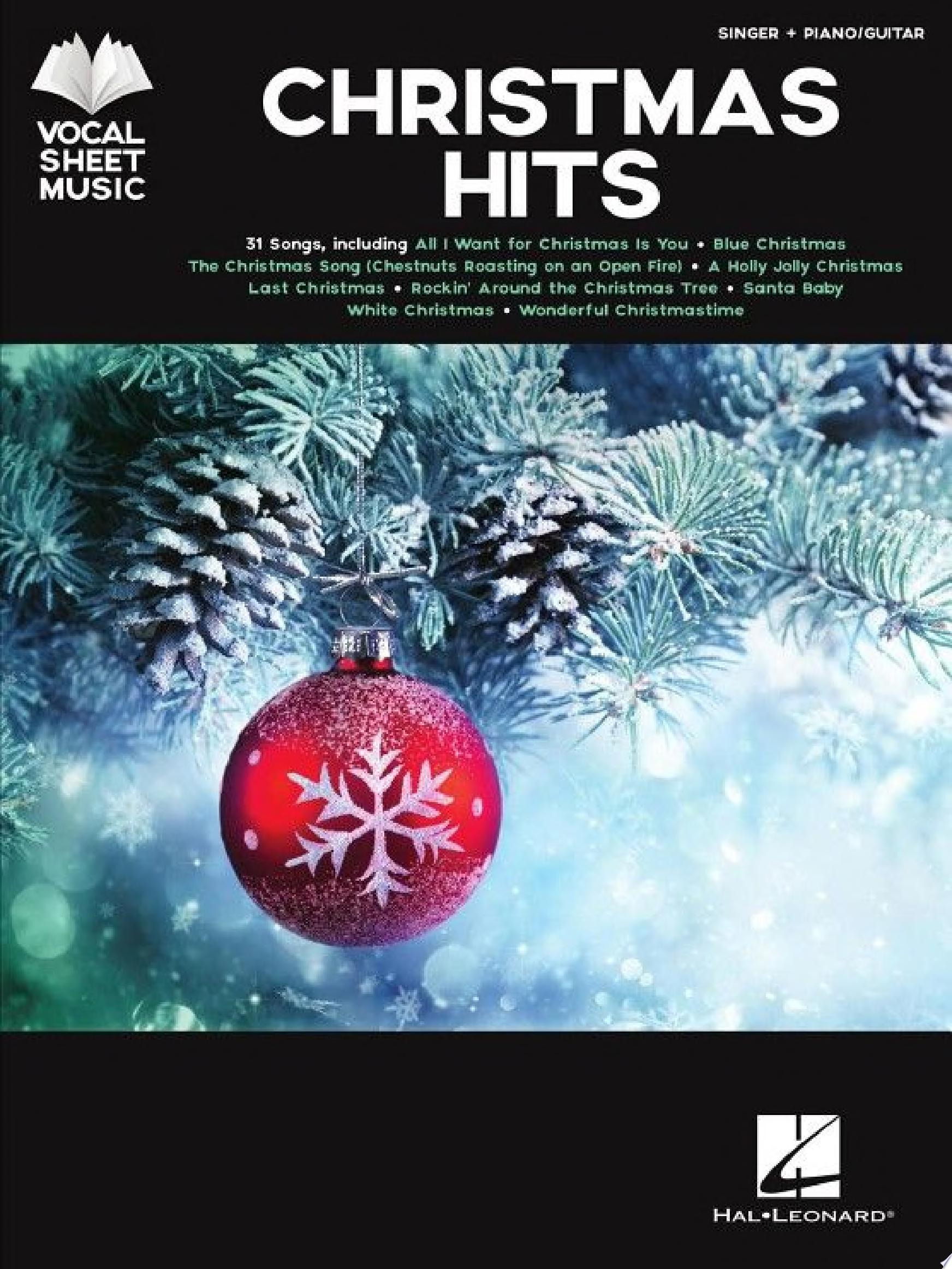 "Image for ""Christmas Hits Songbook"""