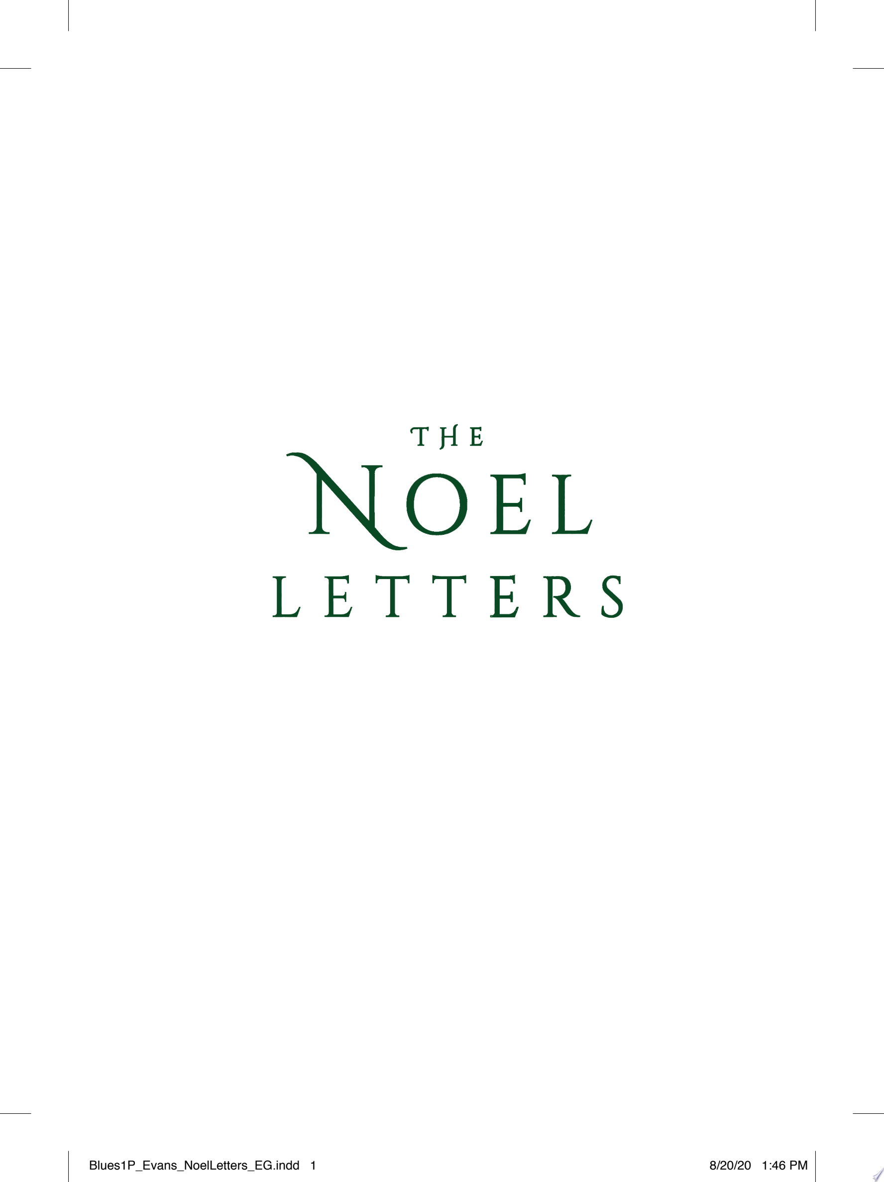 "Image for ""The Noel Letters"""