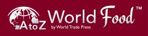 A to Z World Food by World Trade Press logo
